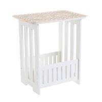 甜梦莱居家家 木塑板方形小茶几客厅双层方桌 简约咖啡桌茶几桌沙发桌子 组装