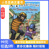 进口英文原版The Unwilling Umpire A to Z 神秘案件 #21 迫不得已的裁判