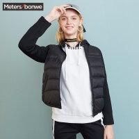 【每满99减60】轻羽绒服女冬装短款棒球服保暖简约小清新外套学生潮