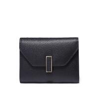 2018新款钱包韩版短款三折女士零钱包多卡位多功能卡包皮夹子