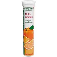 【2支装】德国altapharma VC泡腾片 香橙味 多种维生素 维生素C 20片*2
