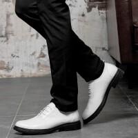 野图皮鞋男夏季新品男士正装鞋商务休闲鞋英伦百搭休闲鞋牛皮皮鞋增高系带皮鞋