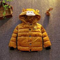 男童棉衣中小儿童冬装羽绒外套宝宝棉袄潮