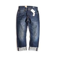 Levi's/李维斯 经典501牛仔裤赤耳男士直筒牛仔裤九分牛仔裤00501-2213