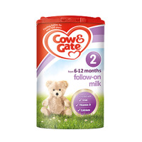保税区发货 英国Cow&Gate牛栏婴幼儿配方奶粉2段(6-12个月宝宝 900g) (保质期到2017年8月份以后)