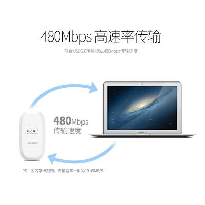二合一读卡器USB3.0高速sd/tf卡迷你多功能相机手机读卡器