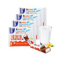 费列罗 Kinder 健达 夹心牛奶巧克力倍多 6条装 4包组合 504克