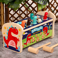 宝宝打地鼠玩具婴幼儿童益智力宝宝敲打大号木质