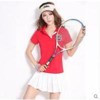 学生短袖短裙子裤裙两件套跑步网球裙羽毛球裙女士运动服套装