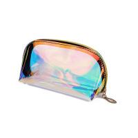 网红镭射幻彩化妆包 透明旅行收纳包防水化妆包收纳袋加印