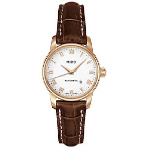 美度MIDO-贝伦赛丽系列 M7600.3.26.8 机械女士手表【好礼万表 礼品卡可购】