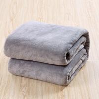 珊瑚绒毯子空调毯毛毯被单绒毯单人毛巾被懒人毯午睡毯休闲毯