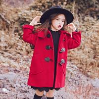 女童毛呢大衣2017新款韩版儿童中长款童装中大童呢子外套秋冬潮