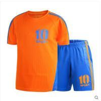 儿童装足球运动套装新款速干男童套装运动服两件套 可礼品卡支付