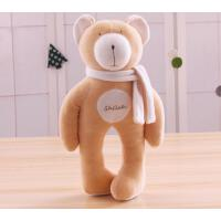 抱抱熊婴儿玩偶宝宝陪睡玩具新生儿安抚公仔消除不安情绪