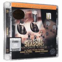进口CD 维瓦尔第 四季 铁胆四季 SACD碟片 天乐唱片 发烧古典