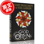 现货 好兆头 插图插画版 英文原版 The Illustrated Good Omens 尼尔盖曼 Neil Gaim