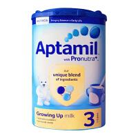 保税区直发 英国Aptamil爱他美婴幼儿配方奶粉3段(1-2周岁宝宝 900g)