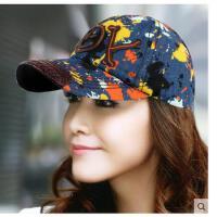 女士帽韩版棒球帽女户外运动嘻哈青年鸭舌帽女潮帽街舞帽
