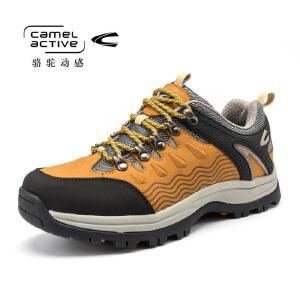 德国骆驼动感登山鞋 新款真皮户外登山鞋徒步防滑耐磨户外男鞋