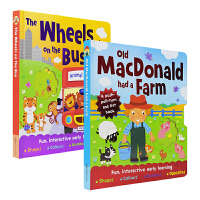 Old Macdonald had a Farm & The Wheels On the Bus 2册经典儿歌英语童谣