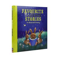 【不退不换】Favourite Bedtime Stories 宝贝爱 精装软包封面睡前故事合集 幼儿英语故事绘本 儿