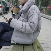 冬季加厚保暖短款面包服韩版青少年宽松棉衣男潮棉袄外套冬天衣服