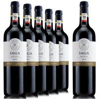 法国原瓶原装进口 拉菲传说梅多克干红葡萄酒2011年 750ml*6整箱