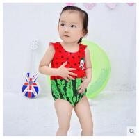 儿童连体泳衣可爱卡通男女童小童中童宝宝度假温泉游泳衣