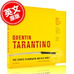 现货 昆汀塔伦蒂诺电影艺术画册设定集:导演电影制作偶像和他的作品集 英文原版 Quentin Tarantino 精装
