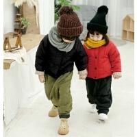 儿童男童棉衣外套女童中小童棉袄