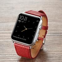 代用apple watch表带苹果表带iwatch2手表表带真皮表带男配件
