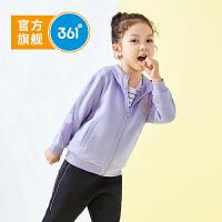 【新春到手价:144.5】361度童装 女小童针织外套2020春秋季新品女童休闲外套女 N62014602