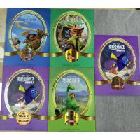 国际金奖迪士尼电影故事典藏系列全套5册海洋奇缘+疯狂动物城+恐龙当家+ 海底总动员2:多莉去哪儿儿童读物男孩女孩娃娃图