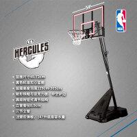 斯伯丁正品篮球架室外家用学校落地可移动便携式篮架训练器材75766