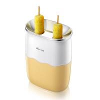 小熊(Bear)家用多功能鸡蛋杯 煮蛋器早餐机卷蛋器煎蛋器鸡蛋卷机热狗机蛋包肠机 黄色 JDQ-B02G1