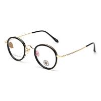 明治/KHDESIGN 镜架 男女文艺复古圆框眼镜框 近视眼镜成品KS1773