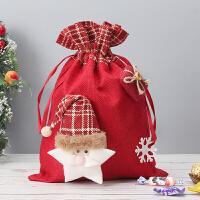 圣诞节平安夜苹果袋儿童礼物袋糖果平安果包装盒子创意小礼品装饰