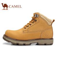 骆驼牌男靴 新品时尚户外休闲靴子耐磨工装靴潮男鞋