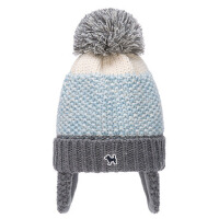 秋冬渐变色护耳帽男童女童保暖帽儿童学生加绒帽子 年龄:1-6岁