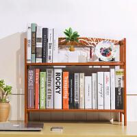 书架 简易多层落地置物架桌上楠竹收纳架儿童男女学生储物整理架子书柜储物家具用品