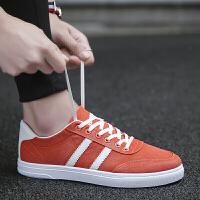 男鞋新款休闲鞋男运动鞋夏季透气板鞋子男士韩版潮流慢跑学生夏天低帮帆布老爹鞋