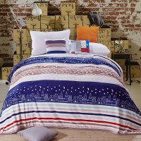 法兰绒毛毯秋冬季家用学生宿舍床单加厚双人珊瑚绒毯子单人被子