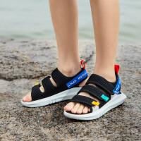 361度童鞋 男童沙滩凉鞋 中大童 2021年夏季新品透气男童鞋凉鞋男N72022604