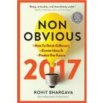 【预订】Non-Obvious: How to Think Different, Curate Ideas & Pre