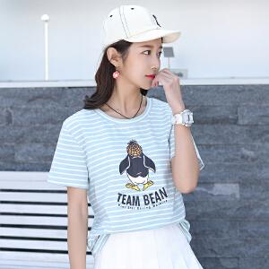 短袖t恤女宽松韩版学生ulzzang夏季半袖夏装新款上衣