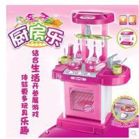雄城过家家儿童 幼儿玩具 亲子厨房乐厨具 套装3岁 包邮