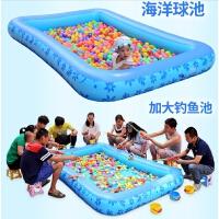 儿童游泳池充气家庭婴儿家用海洋球池沙池大号戏水玩具