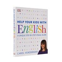 DK Help Your Kids With English 帮助你的孩子掌握英语学习技巧 英国教育达人 家庭育儿图解