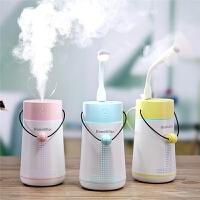 加湿器迷你静音卧室家用办公室空气孕妇婴儿车载空调补水喷雾器小型便携式抖音同款易拉罐大容量多功能